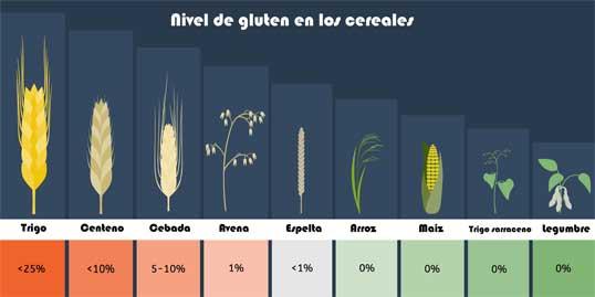Dieta para la celiaquía