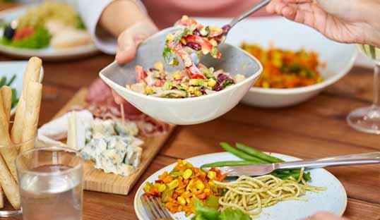 Planificación de menús familiares