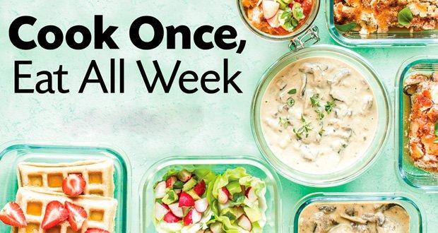 cocinar para toda la semana